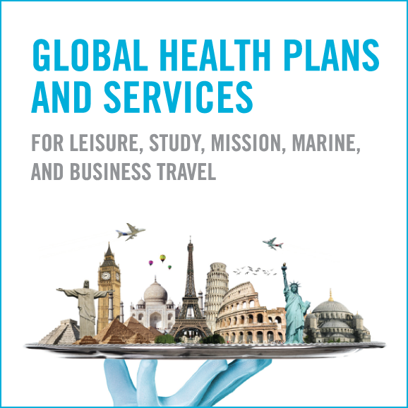 Global Health Plans and Services for Leisure, Study, Mission, Marine, and Business Travel